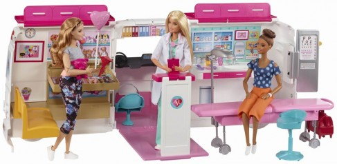 Barbie clinica mobila