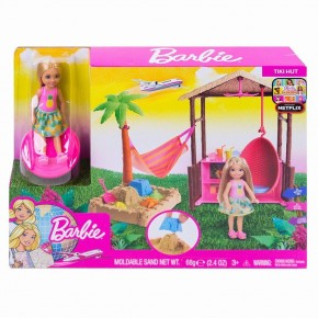 Barbie travel set Chelsea in vacanta
