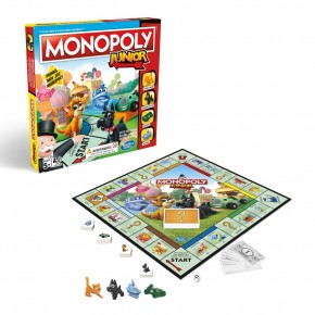 Monopoly Junior in limba romana