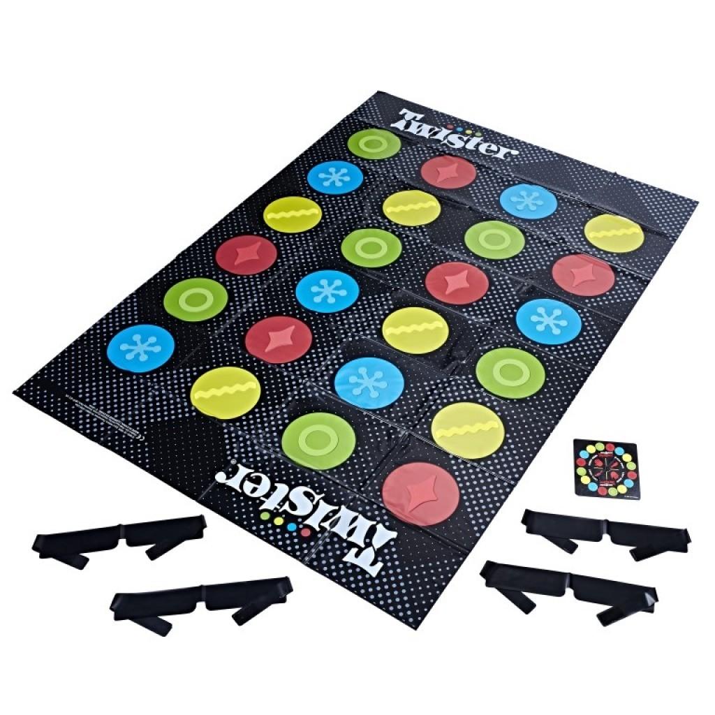Joc interactiv - Twister legat la ochi