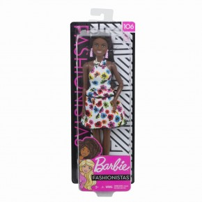 Papusa Barbie fashionista afro americana