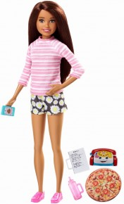 Papusa Barbie gama family bona seara pizza