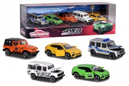 Set cadou 5 masini SUV