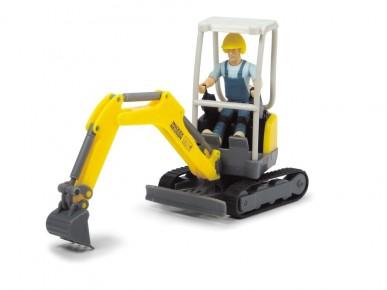 Set excavator Wacker Neuson scara 1:24