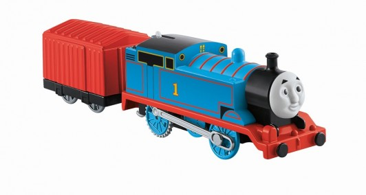 Thomas Trackmaster locomotiva Thomas cu vagon