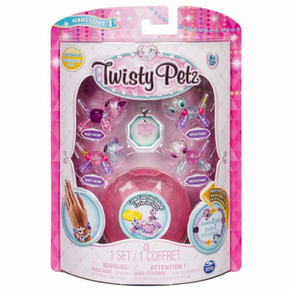 Twisty Petz Set 4 bratari Baby animalute Tip6