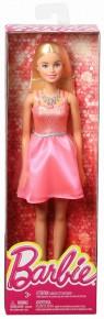 Papusi Barbie tinute stralucitoare blonda cu rochita roz deschis