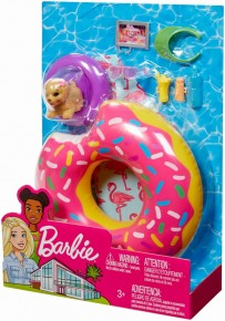 Barbie set accesorii piscina cu colac