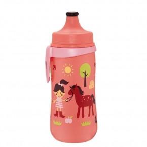 Cana Kids Cup Girl PP 330 ml, antipicurare, cu clip de prindere ,18+ luni, nip 35052
