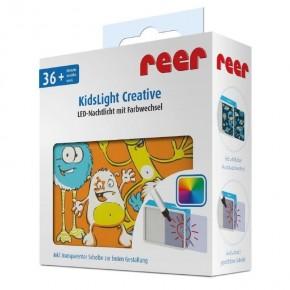 """Lampa de veghe cu leduri colorate KidsLight Creative """"Monstrii"""" REER"""