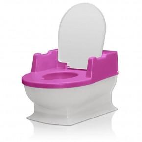 Minitoaleta pentru copii, roz REER