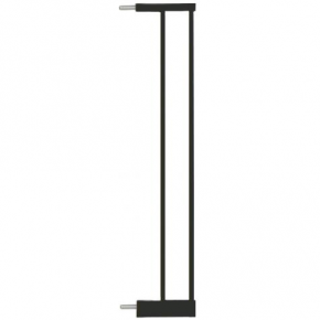 Extensie poarta de siguranta Noma, metal negru, 14 cm