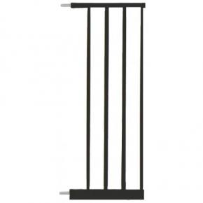 Extensie poarta de siguranta Noma, metal negru, 28 cm