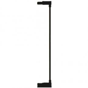 Extensie poarta de siguranta Noma, metal negru, 7 cm