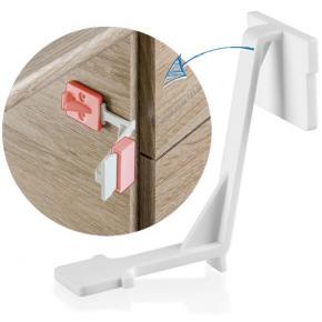 Siguranta pentru sertare si usi de dulapuri REER