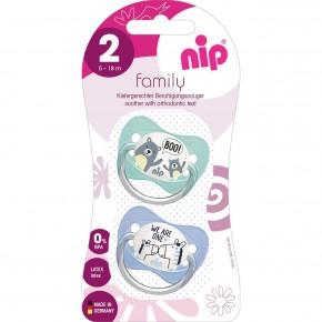 Suzeta Family Silicon marimea 2 (5 - 18 luni), Nip
