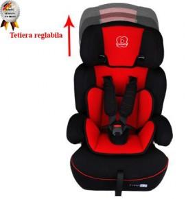 BabyGo - Scaun Auto Freemove Red 9-36kg