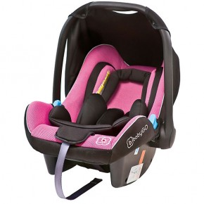 BabyGo - Scoica Auto Traveller Xp Pink 0-13kg