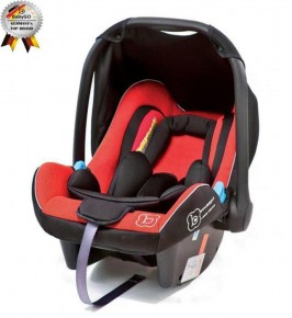 BabyGo - Scoica Auto Traveller Xp Red 0-13 kg