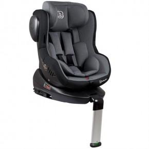BabyGo – Scaun auto ISO Rotativ 360° - Gri 0-18kg