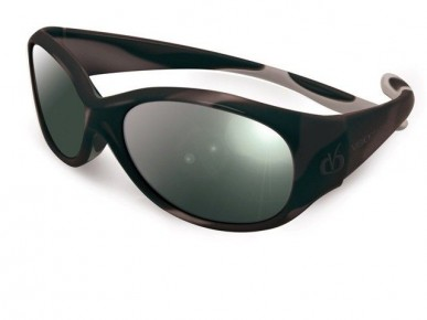 Ochelari protectie solara REVERSO VISTA 4-8 ani, negru/gri