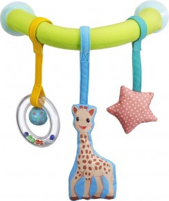 Vulli Arcada cu ventuze pentru masina Girafa Sophie