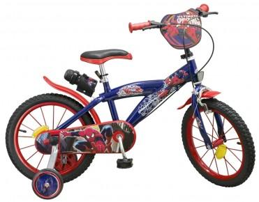 Bicicleta 16'' Spiderman baieti