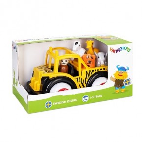 Camion Safari cu ghid si animale - Jumbo