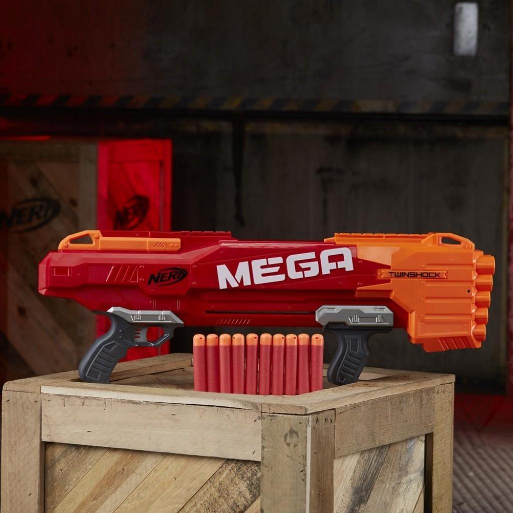 Blaster Nerf N-Strike MEGA TwinShock