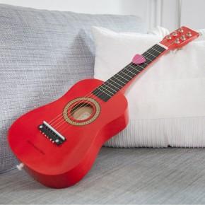 Chitara rosie New Classic Toys