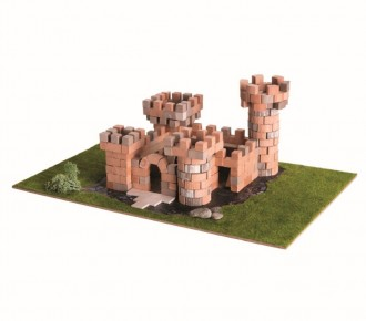 Set de constructie Brick Trick - Palat din caramizi adevarate