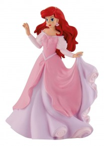 Figurina Ariel in rochie roz-Produs 2017