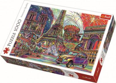 Puzzle Trefl 1000 Culorile Parisului