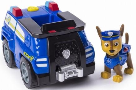 Set de joaca Chase si masina de politie Patrula catelusilor