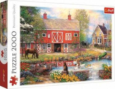 Puzzle Trefl 2000 Viata la tara