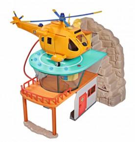 Set de joaca - Statia de salvare montana a Pompierului Sam
