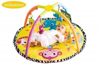 Saltea pentru bebelusi - Twist & Fold Aactivity gym mat