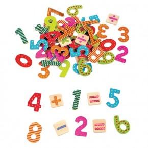 Numere Magnetice din lemn