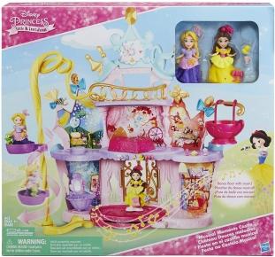 Castelul muzical al printeselor Disney - Rapunzel si Belle