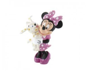 Figurina Minnie with Puppy