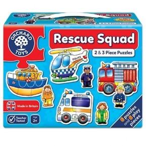 Set 6 puzzle Echipa de salvare (2 si 3 piese) Resque squad