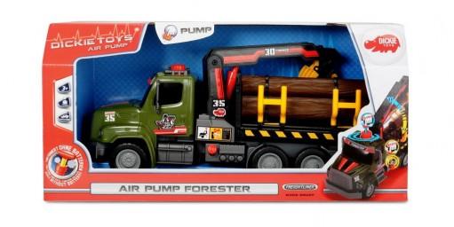 Air Pump camion de carat busteni cu macara 32 cm