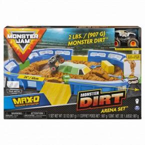 Set de joaca Monster Jam - Arena Monster Dirt