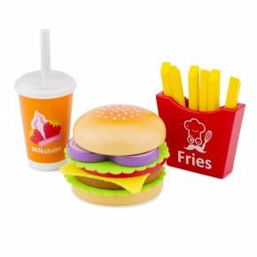 Jucarie Set Fast Food