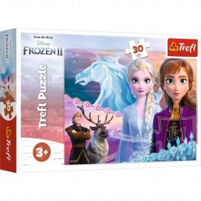 Puzzle Trefl 30 Frozen Curajoasele surori