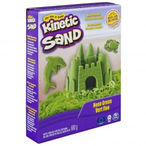 Kinetic Sand Deluxe culori verde neon 680 gr