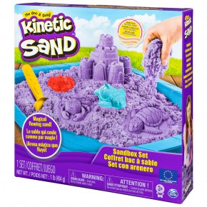 Set Kinetic Sand - nisip kinetic mov 454g