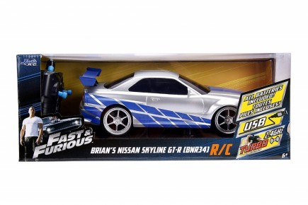 Masina Fast and Furious - Nissan Skyline GT-R - RC