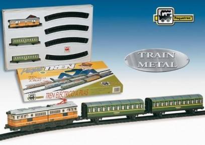 Trenulet electric calatori (clasic)