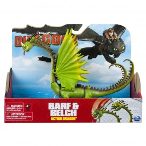 Dragon in actiune Barf si Belch